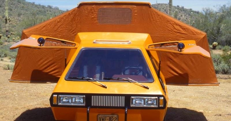 The Retrofuturistic 1979 Phoenix Camper Van With Side