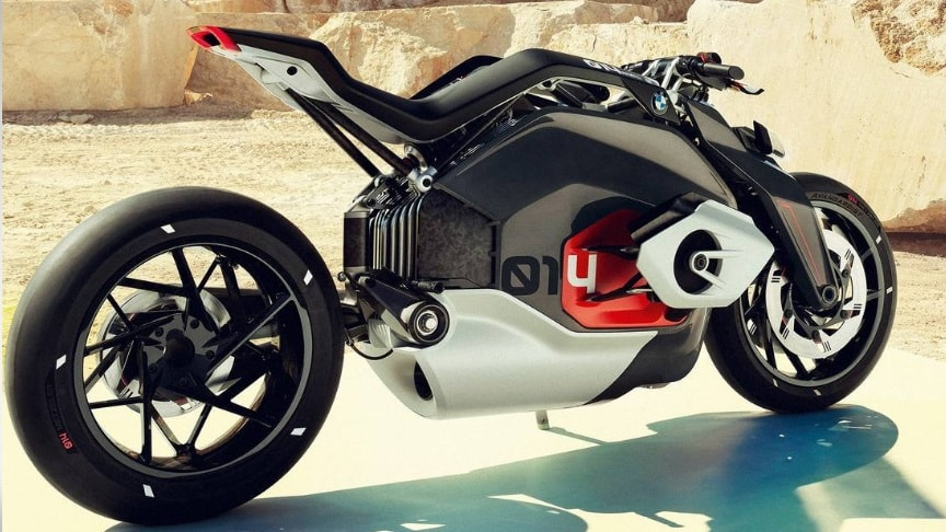 The Bmw Electric Motorrad Vision Dc Roadster