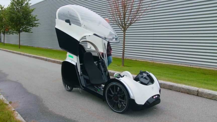 nouveau style 529bf dfcad The Podbike Electric Assist Velomobile – The Future Of ...
