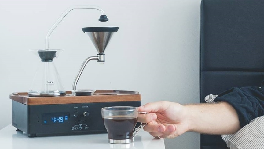 This High-Tech Alarm Clock With Tea & Coffee Maker | Sia Magazin