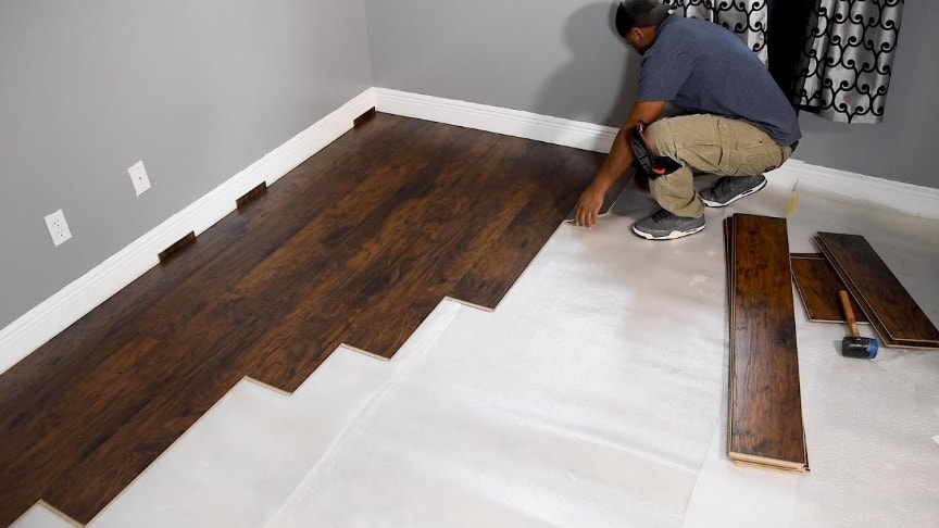 Viral Zone 24 How To Install Laminate Flooring For Beginners