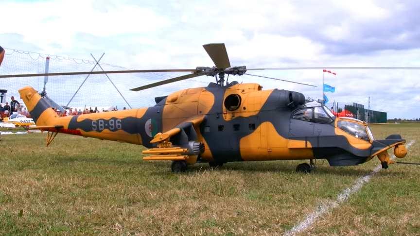 Super Big RC Mil Mi-24 Super Hind Scale Model Helicopter