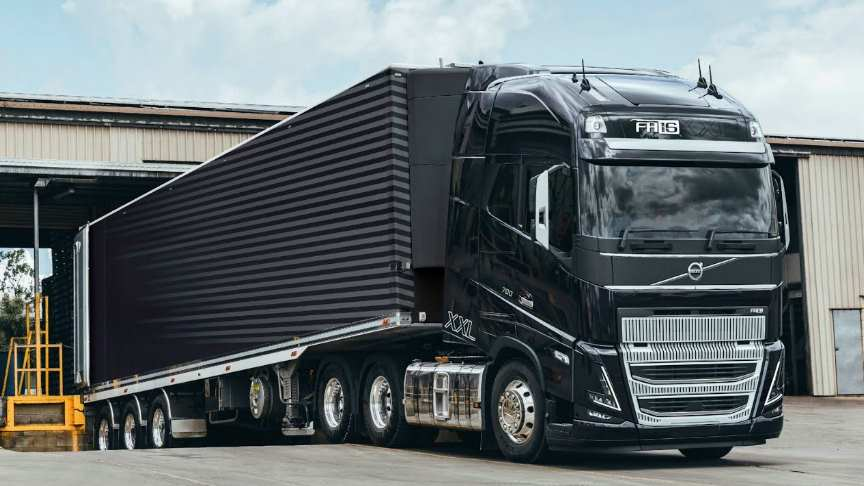 full test drive of the all new volvo fh 2021 truck